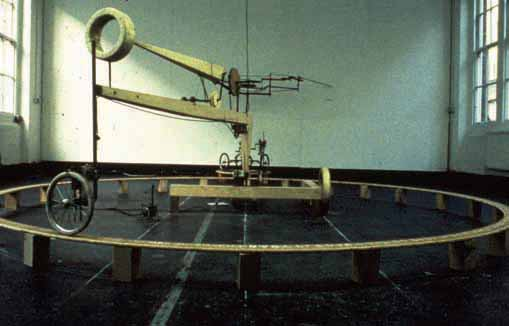 Bed Machine (aka sex machine) was constructed over the period of 14 months between 1991 and 1992 by piecing together debris of the city collected  from the streets of London.